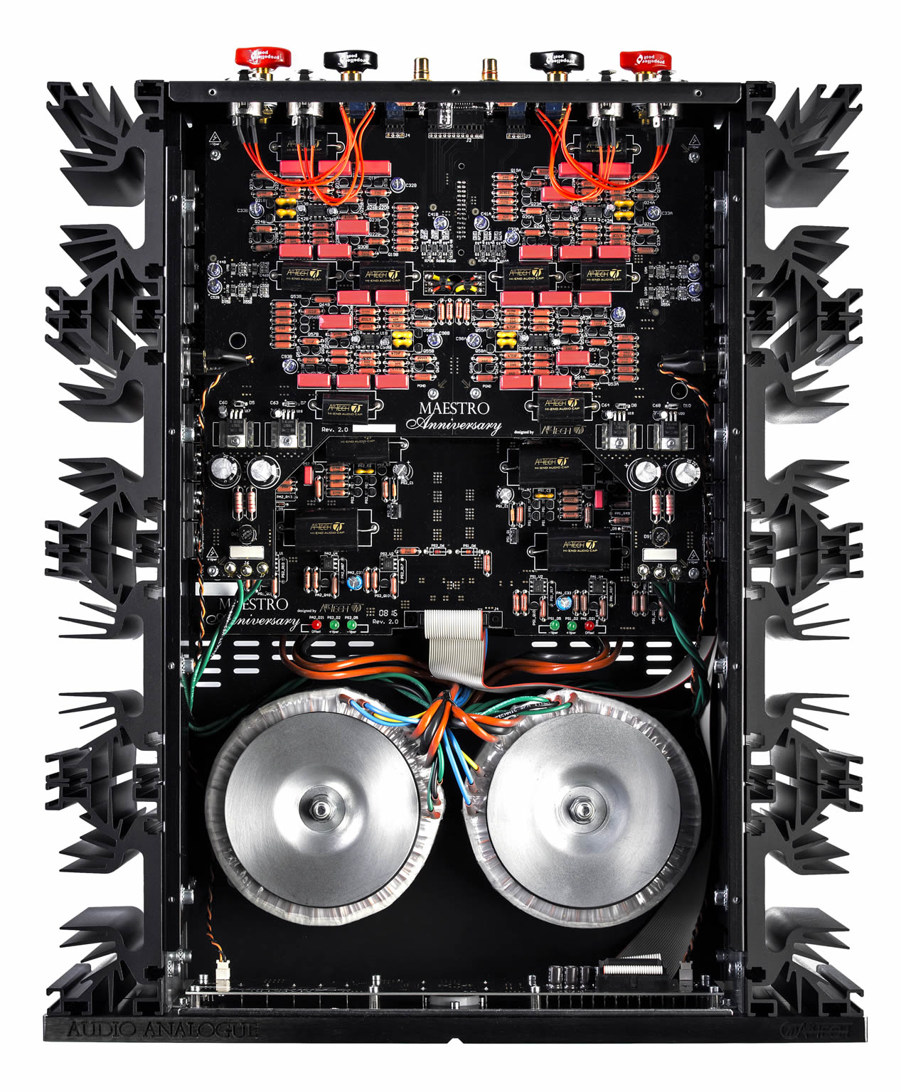 Audio Analogue Maestro versterker black