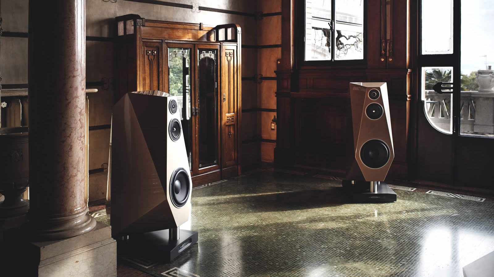 Assortiment Diapason Loudspeakers